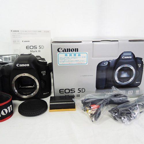 カメラ買取実績紹介「CANON キャノン EOS 5D Mark III ボディ」