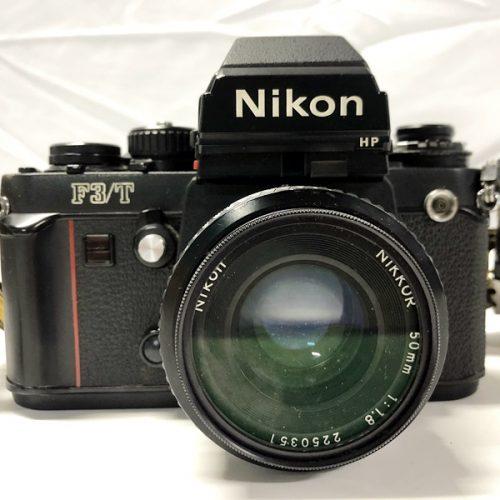 カメラ買取実績紹介「Nikon ニコン F3/T NIKKOR 50mm F1.8」