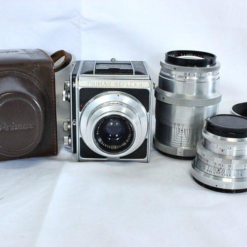 カメラ買取実績紹介「Meyer-Optik Gorlitz マイヤー PRIMAR-FLEX II Primotar 85mm F3.5/Trioplan 100mm F2.8 V/ Tessar 165mm F3.5 T」