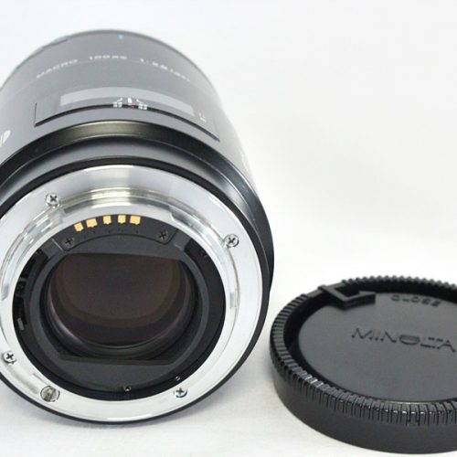 カメラ買取実績紹介「MINOLTA ミノルタ AF MACRO 100mm F2.8 レンズ」