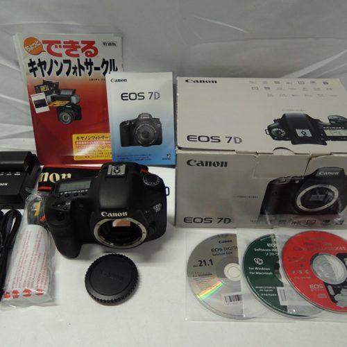 カメラ買取実績紹介「Canon キャノン EOS 7Dボディ」