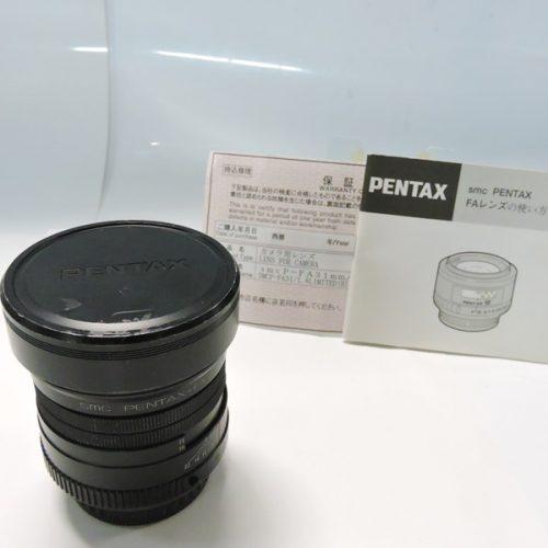 カメラ買取実績紹介「RICOH PENTAX ペンタックス SMC PENTAX-FA 31mm F1.8 AL LIMITED」