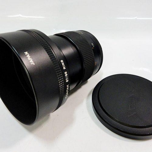 カメラ買取実績紹介「CONTAX コンタックス Carl Zeiss Planar T* 1.4/85 CONTAXフードフィルター付き」