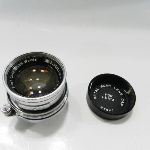 カメラ買取実績紹介「Leica ライカ Summicron 50mm F2 1365612 Lマウント 沈胴」