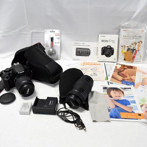 カメラ買取実績紹介「Canon キャノン EOS Kiss X7i ダブルズームキット」