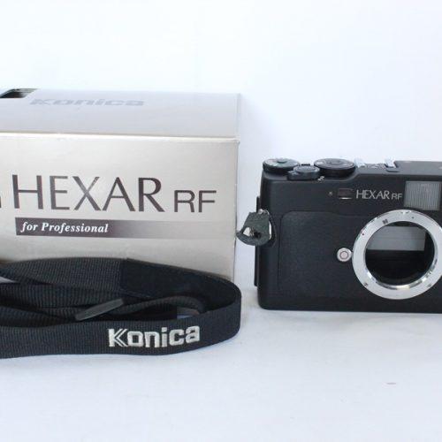 カメラ買取実績紹介「Konica コニカ HEXAR RFボディ」
