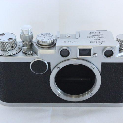 カメラ買取実績紹介「Leica ライカ バルナック IIFボディ 1955年頃 788151 レッドダイヤル セルフタイマー無し」