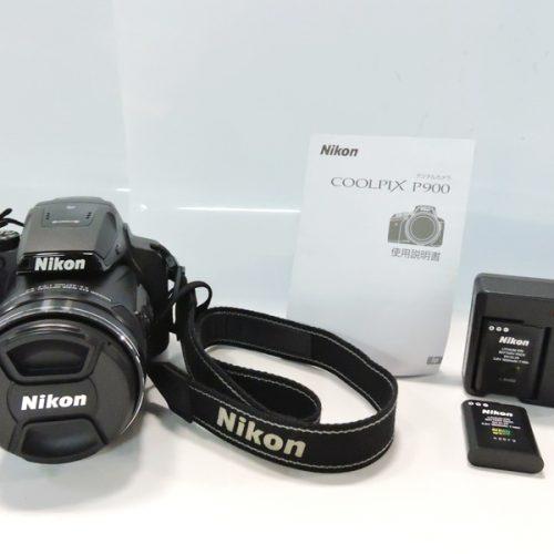 カメラ買取実績紹介「Nikon ニコン COOLPIX P900 コンパクトデジタルカメラ」
