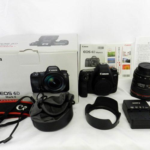 カメラ買取実績紹介「Canon キャノン EOS 6D MarkII EF24-70 F4L IS USM Kit」