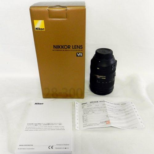 カメラ買取実績紹介「Nikon ニコン NIKKOR AF-S 28-300mm F3.5-5.6G ED VR」
