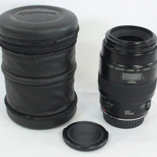カメラ買取実績紹介「Canon キャノン キャノン EF 100mm F2.8 Macro」