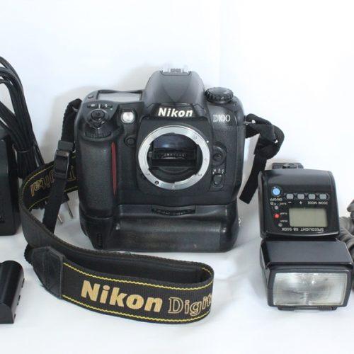 カメラ買取実績紹介「Nikon ニコン D100ボディ MB-D100付属」
