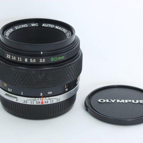 カメラ買取実績紹介「OLYMPUS オリンパス OM-SYSTEM ZUIKO MC AUTO-MACRO 50mm F3.5」