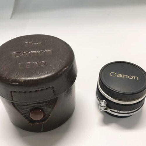 カメラ買取実績紹介「Canon キャノン 28mm F3.5 Lマウント」