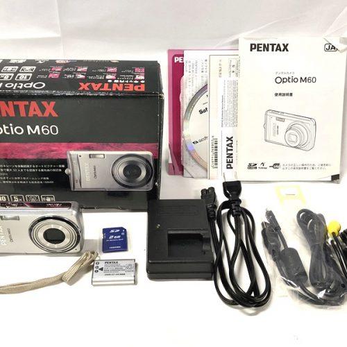 カメラ買取実績紹介「PENTAX ペンタックス  Optio M60」