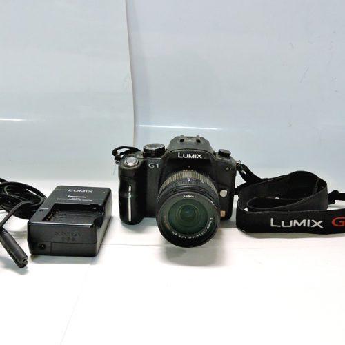 カメラ買取実績紹介「Panasonic パナソニック LUMIX G1 14-4mm レンズキット ボディベタつき汚れ有り」