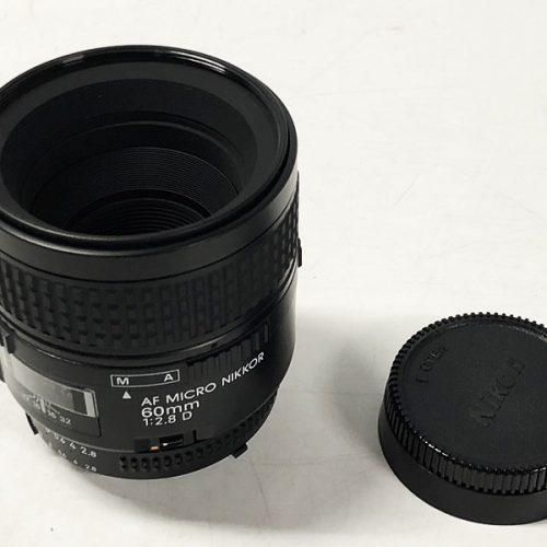 カメラ買取実績紹介「Nikon ニコン AF Micro-Nikkor 60mm 2.8D」