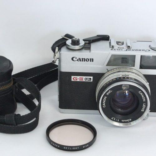 カメラ買取実績紹介「Canon キャノン Canonet QL17 G-Ⅲ 40mm F1.7」