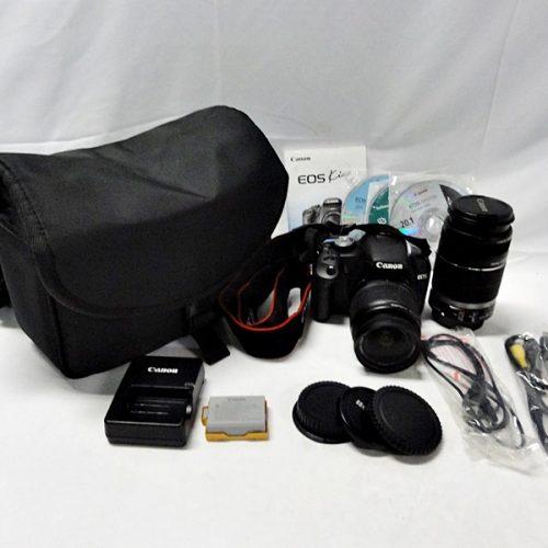 カメラ買取実績紹介「Canon キャノン EOS Kiss X3 ダブルズームキット」